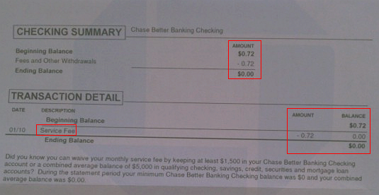 chase bank  you suck