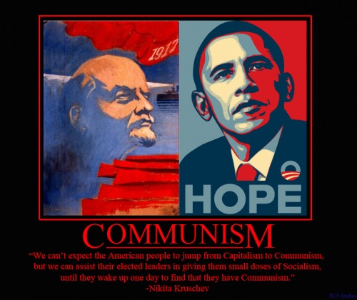 obama commie roots