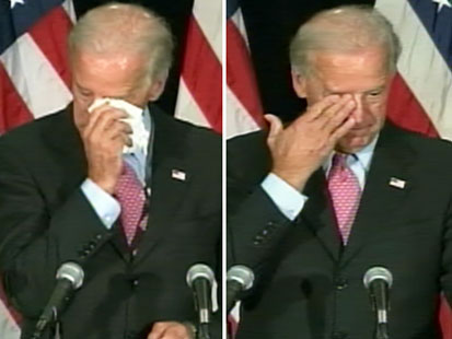 joe biden crying